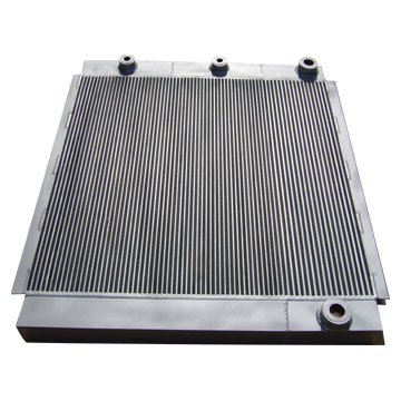 air and oil cooler